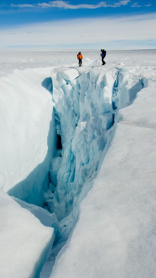 Groenlandia, bajo el escrutinio de los drones