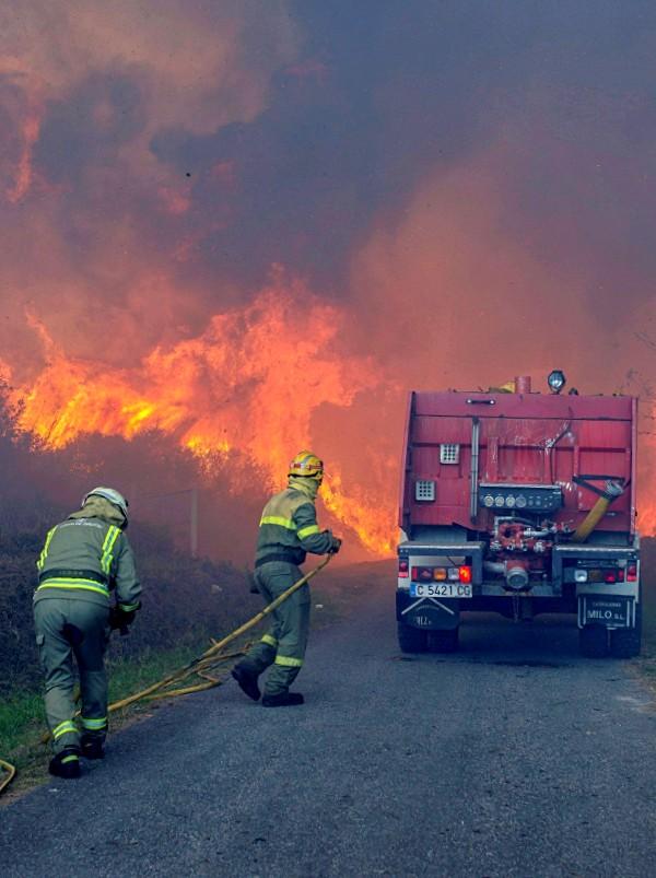 España en el triste 'TOP 5' de hectáreas quemadas por incendios forestales de Europa