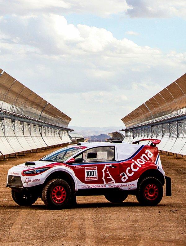 El regreso a la competición del 'Acciona 100% EcoPowered'