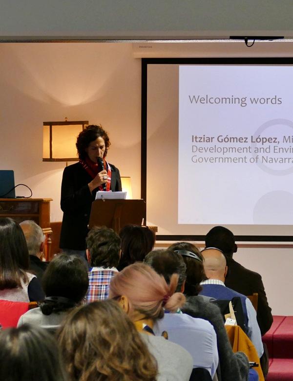Residuos. 3ª Conferencia Internacional de RREUSE en la sede de Traperos de Emaús en Navarra