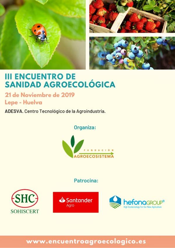 III Encuentro de Sanidad Agroecológica