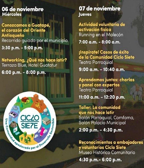 Cumbre Iberoamericana de Ciclo Siete