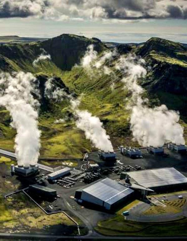 Tecnología verde. Capturan CO2 y lo convierten en roca