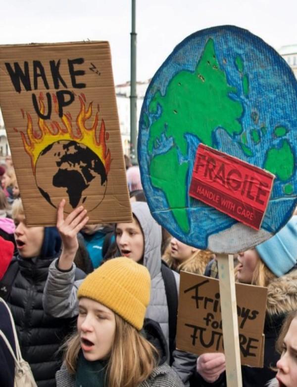 'Climate Strike', elegida expresión del año