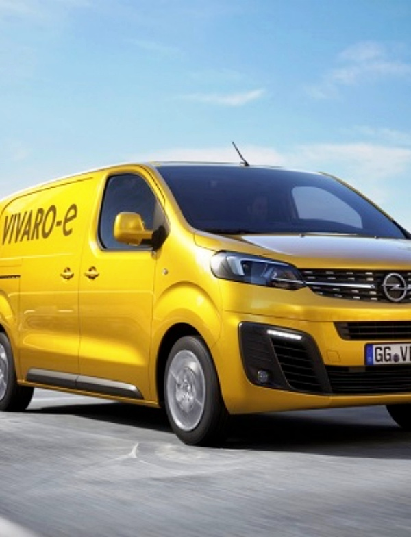 Opel Vivaro 'eléctrico'