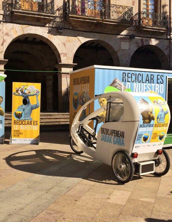 Euskadi. Nueva campaña 'Reciclar es lo Nuestro'