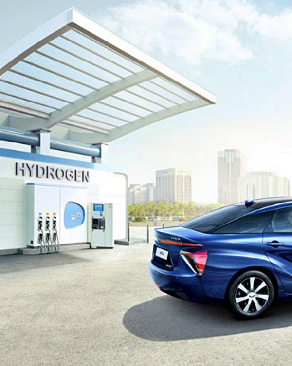 Toyota trabajará en el desarrollo del hidrógeno como fuente de energía
