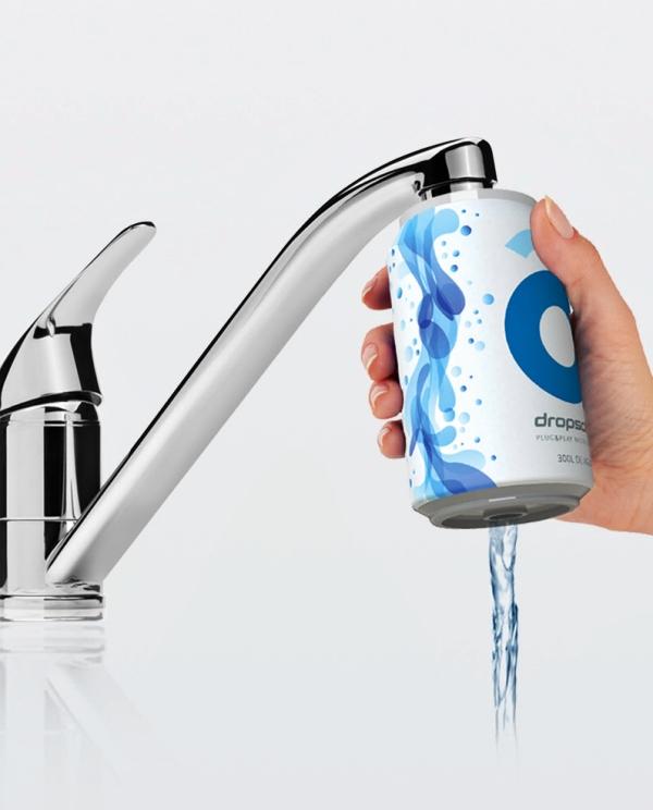Dropson te ayuda a eliminar 200 botellas de plástico cambiando tu manera de beber agua