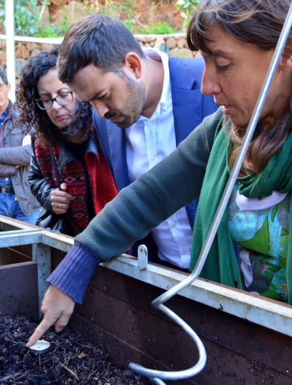 El Ayuntamiento de La Laguna estudia en La Palma estrategias para mejorar la recogida selectiva de residuos
