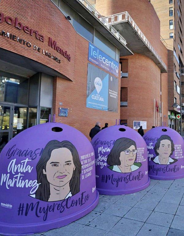 Residuos. Leganés arranca la campaña 'Mujeres Con Eco'