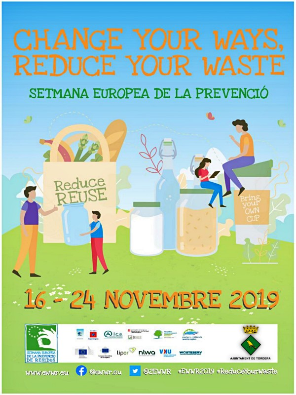 Catalunya. Semana Europea de la Prevención de Residuos