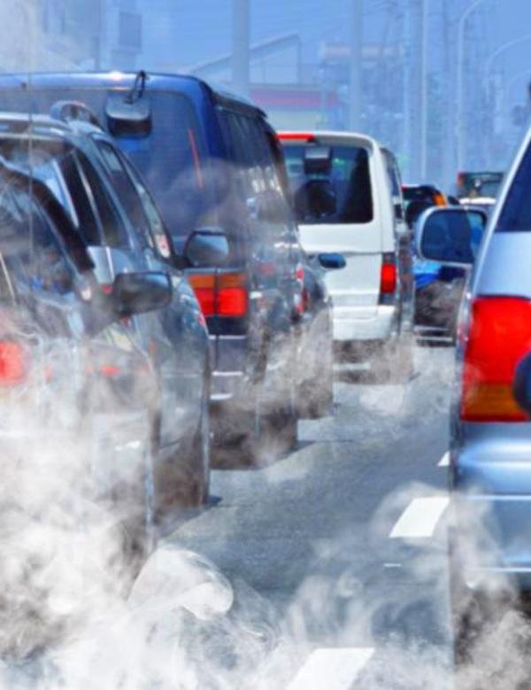 Tecnología verde para reciclar NO2 en químico industrial útil con agua y aire