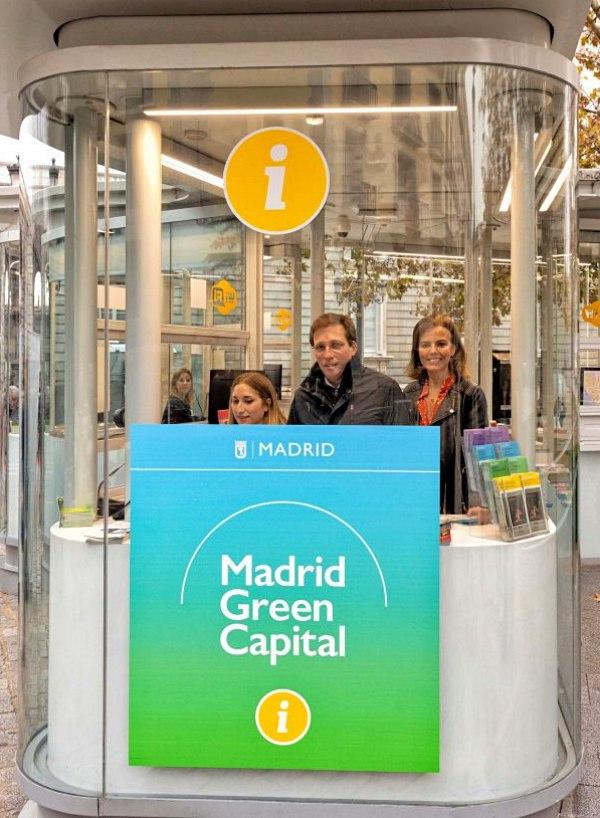 ¿Por qué el Ayuntamiento de Madrid utiliza el distintivo verde 'green capital' que no tiene?