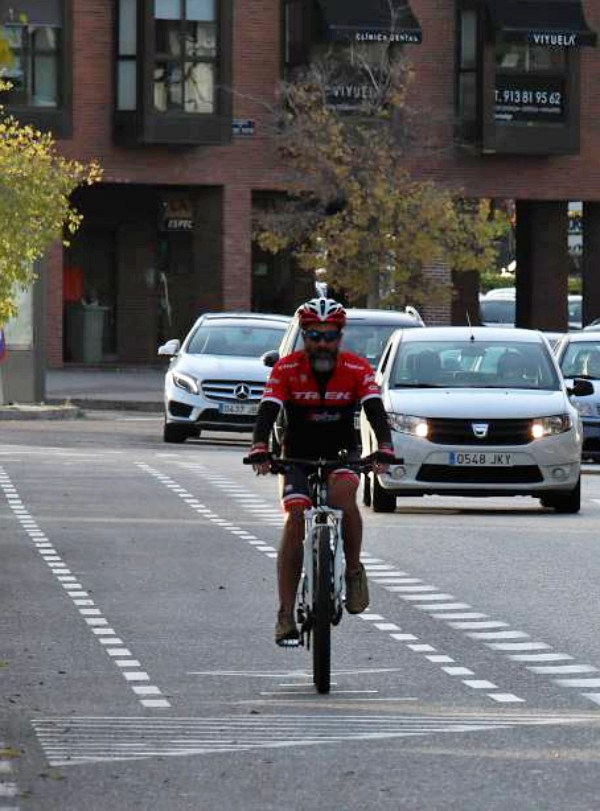 Madrid. La Castellana tendrá carril bici segregado