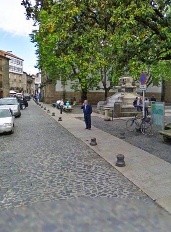 Greenpeace se implica para mejorar la movilidad de Santiago de Compostela