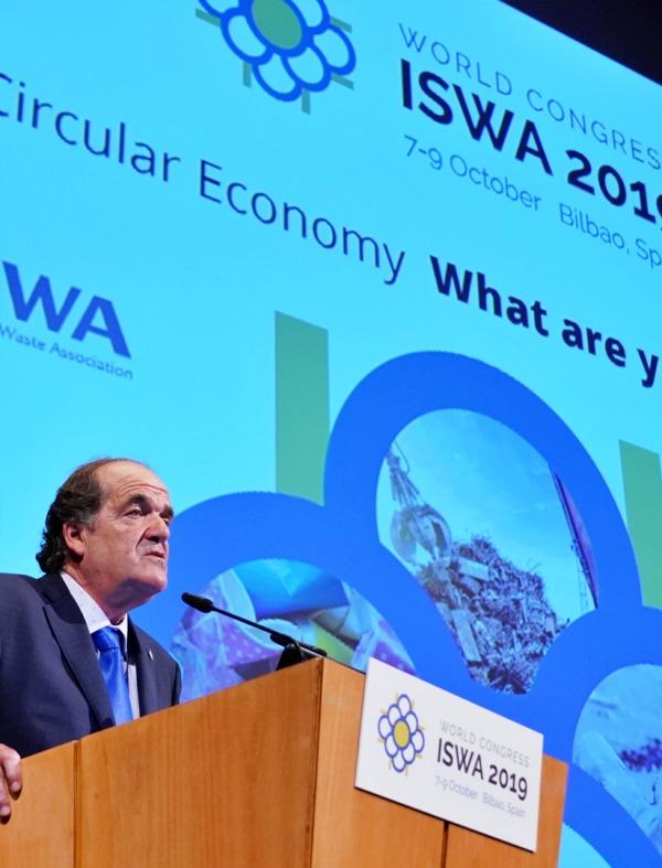 Ecovidrio en ISWA2019