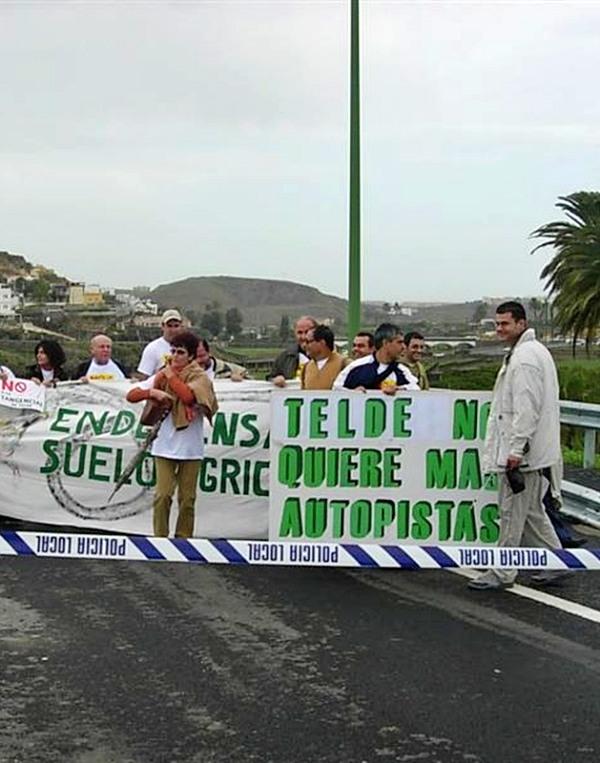 Rechazo a la tangencial de Telde y denuncia a la hipocresía del Cabildo de Gran Canaria