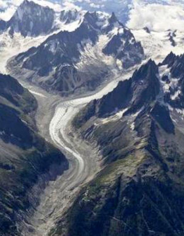 El 'Mont Blanc' se queda sin hielo