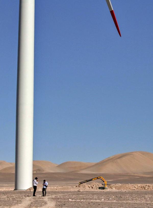 Chile. GES desarrollará dos proyectos renovables de Engie
