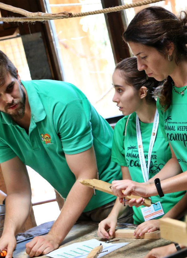 Oasis WildLife organiza el primer campamento en toda Europa destinado a futuros cuidadores de animales