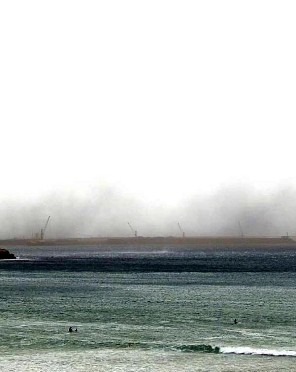 Asturias. No se puede permitir el almacenamiento de carbón del Musel sin protecciones