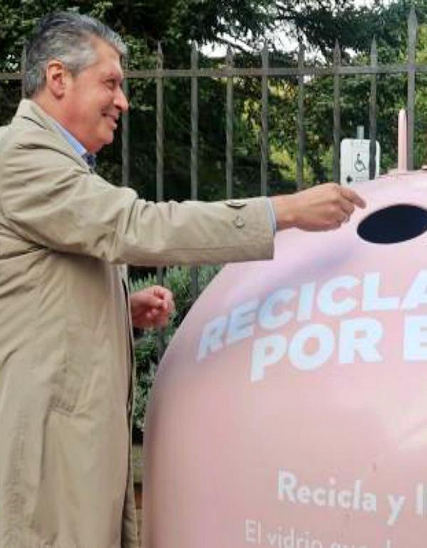 Ayuntamiento de León y Ecovidrio, alianza para fomentar el reciclaje