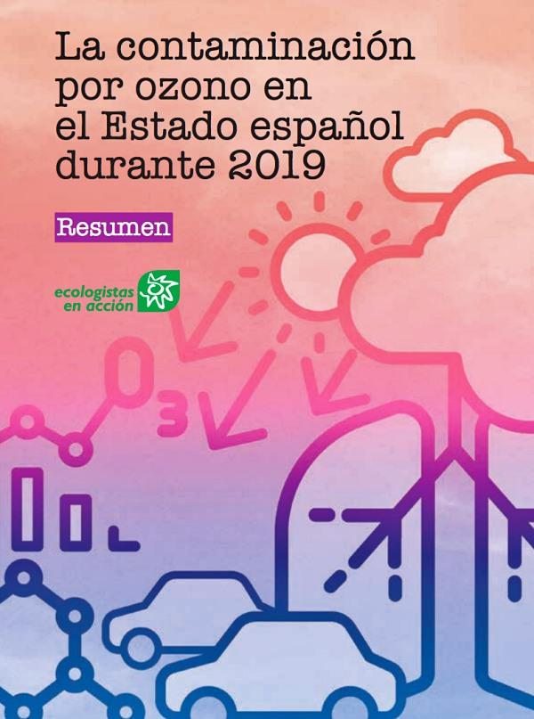 Los españoles respiran aire contaminado por ozono