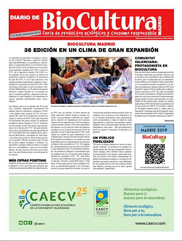 BioCultura Madrid 2019, ya puedes consultar el diario de la feria online