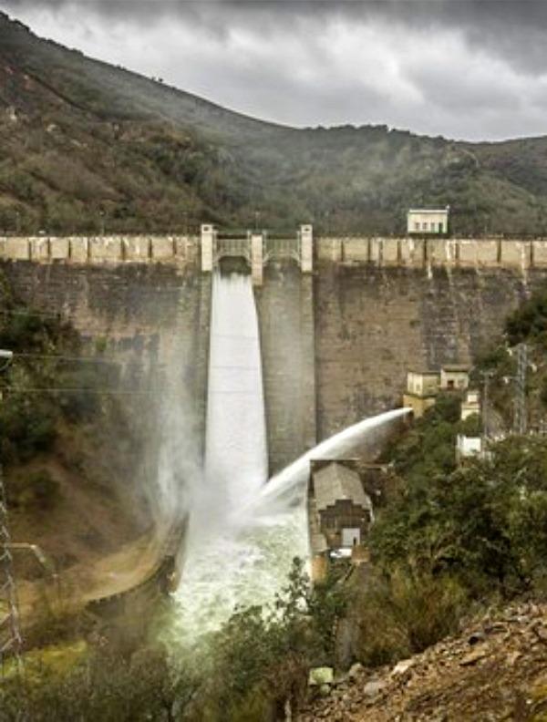 La reserva hidráulica española se encuentra al 40,3 por ciento de su capacidad