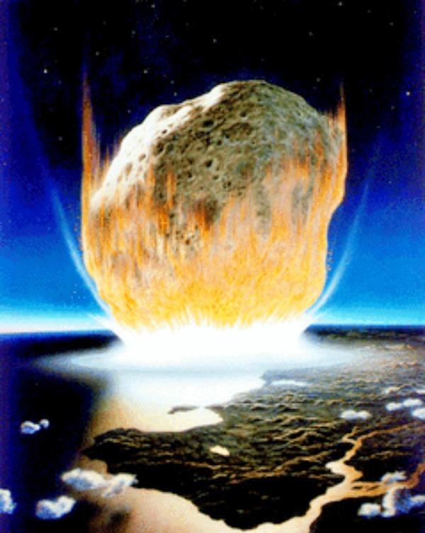 El impacto de un asteroide hace 65 millones de años destruyó toda la fauna y flora existente