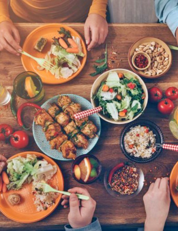 Receta recomendada por la FAO: Dieta equilibrada y sana, y menos desperdicio alimentario