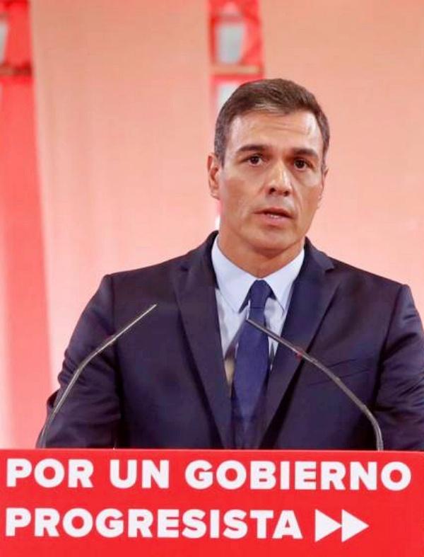 Pedro Sánchez decretará el estado de emergencia climática en cuanto forme Gobierno