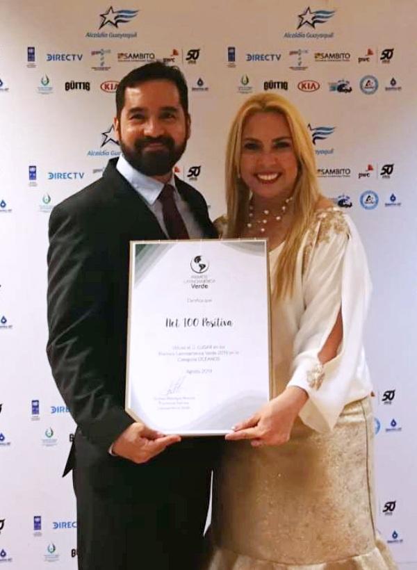 Un proyecto de recogida de redes de pesca logra el segundo puesto de los Premios Latinoamerica Verde