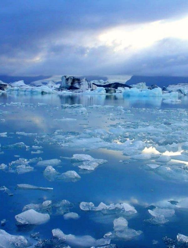 El hielo en el Océano Ártico en mínimos históricos