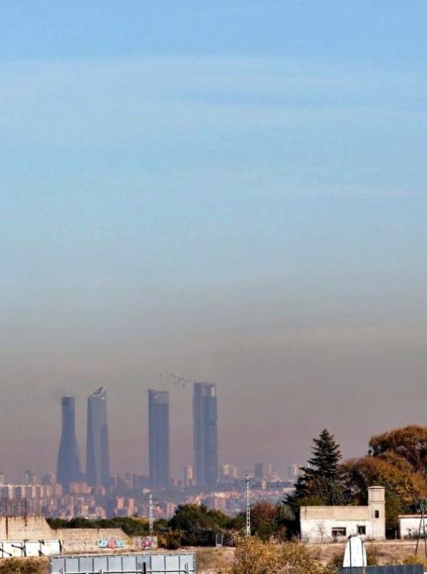 Madrid y Barcelona registran el 30'5% de las muertes prematuras por culpa de la contaminación atmosférica en España