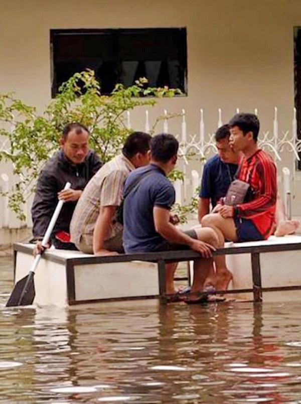 El cambio climático 'apisona' los derechos humanos