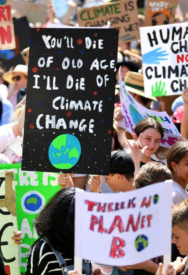 Australia se 'vuelca' con la huelga mundial por el clima