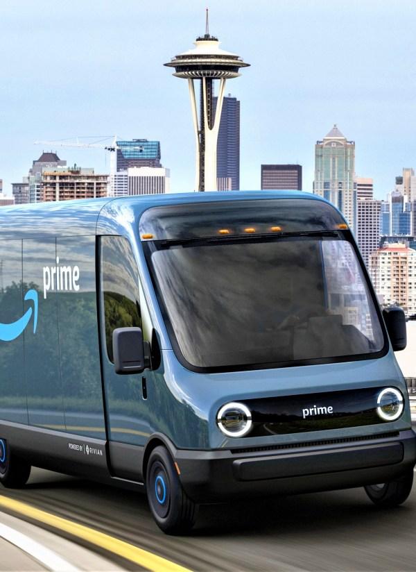 Amazon compra 100.000 vehículos eléctricos