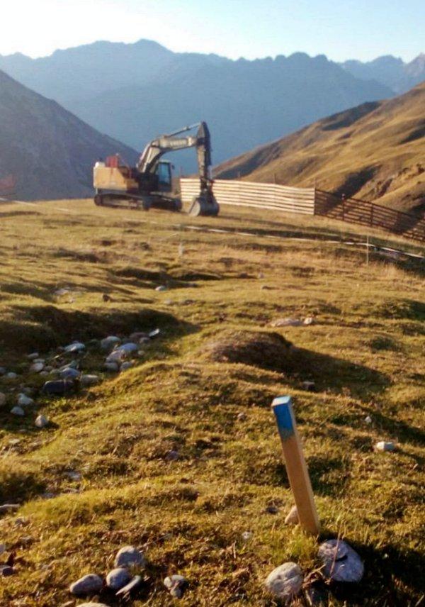 Las obras en Huesca de la urbanización de Castanesa se paralizan por su ilegalidad