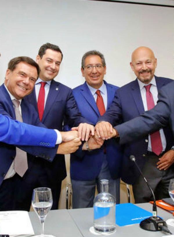 VI Acuerdo de la industria cementera con el sello verde de la Junta de Andalucía