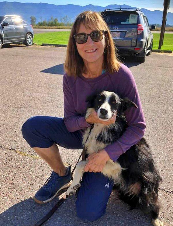 Casi 60 días después aparece Katie, una perra de 7 años perdida
