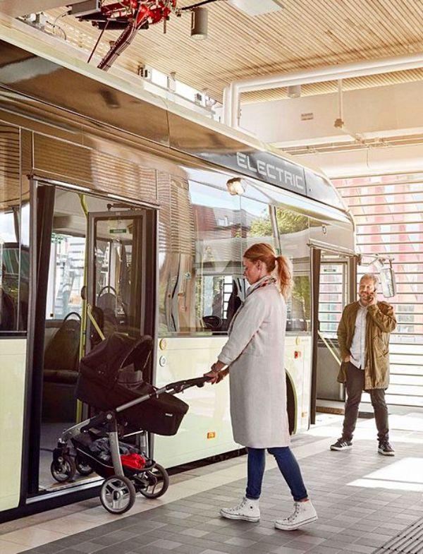 Volvo Buses trabaja 'duro' para la electrificación del transporte público