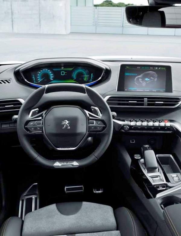 Peugeot presentará una versión híbrida enchufable del SUV 3008