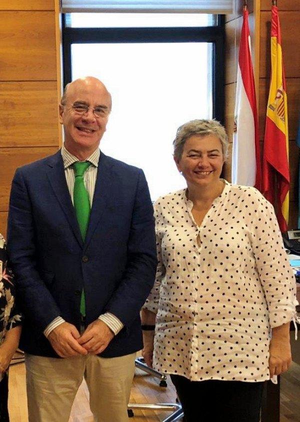 El Colegio de Veterinarios de Asturias inicia el curso con una ronda de encuentros institucionales