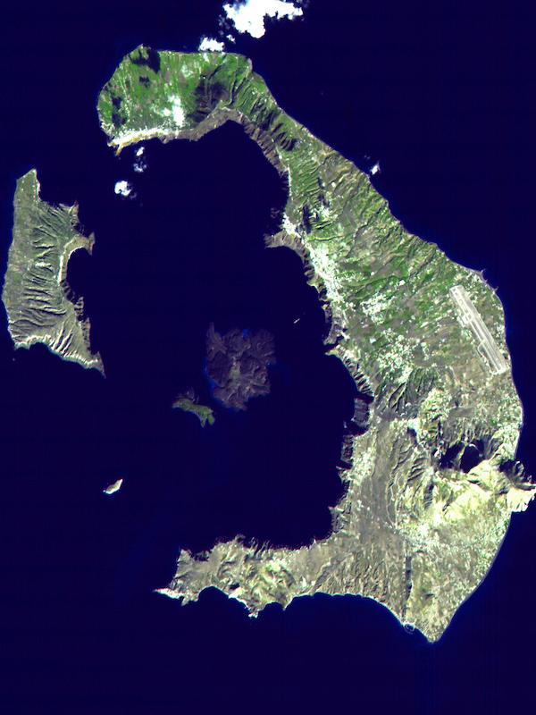 Los anillos de los árboles ayudan a fechar la gran erupción de Santorini