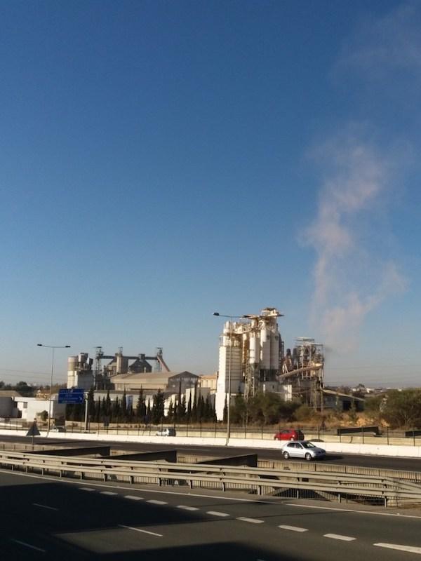 Alcalá de Guadaira. Último informe de contaminación a la atmósfera por la cementera Portland Valderrivas, S.A. en 2018