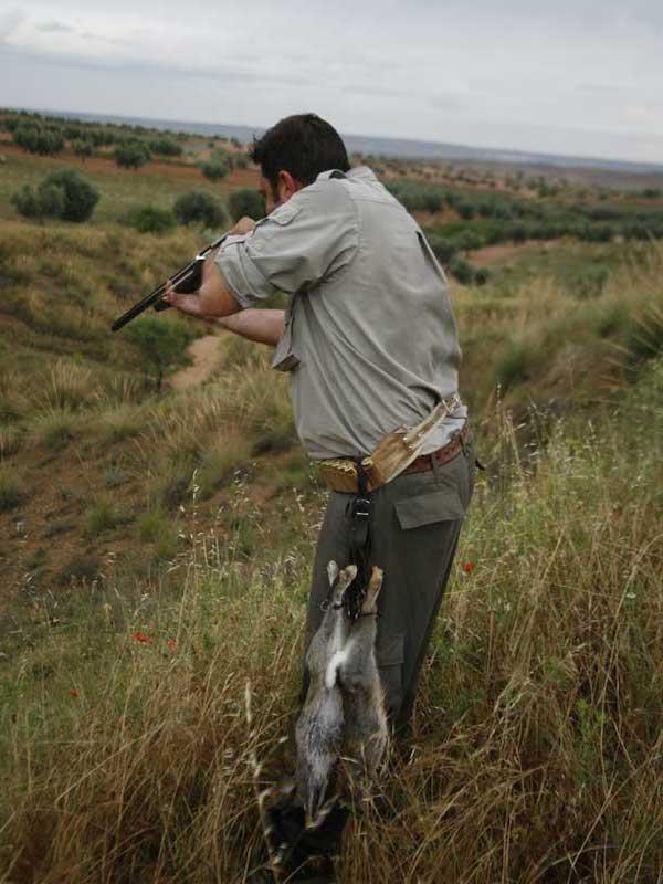 Castilla-La Mancha 'anima' a liquidar a tiros a conejos durante el estado de alarma