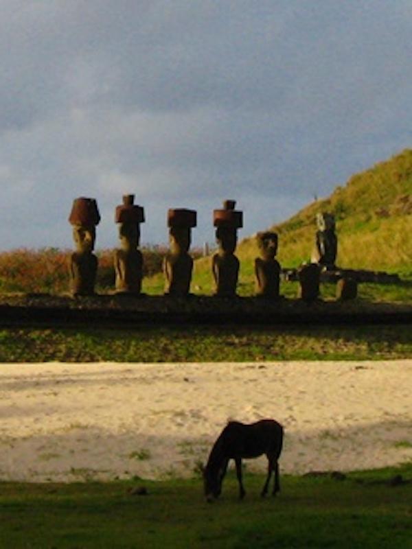 El declive de la civilización de la Isla de Pascua por razones de medio ambiente