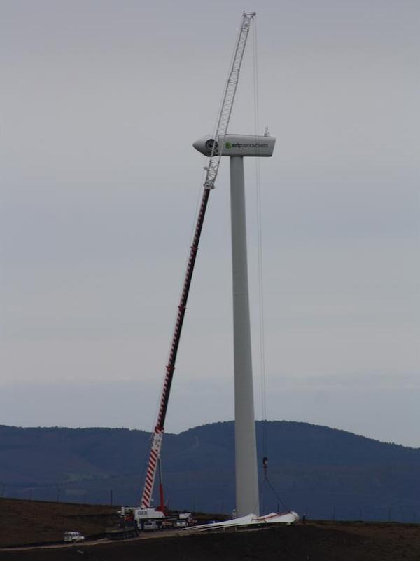 Asturias. El peligro de los parques eólicos en zonas prohibidas, como Aller
