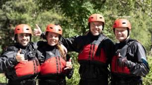 Cuatro ecoaventureros inician este viernes el descenso integral del río Ebro en kayak